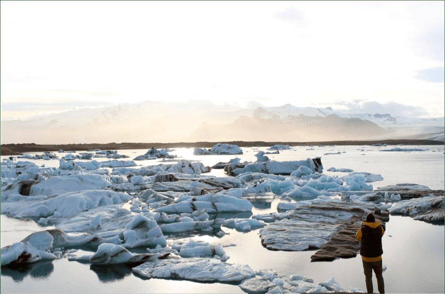 arctic ice matt steward photo mindful