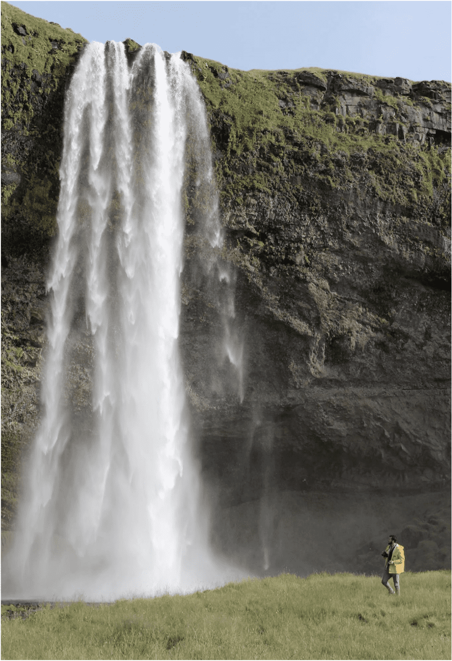 waterfall matt stephenson mindful steward photo essay iceland