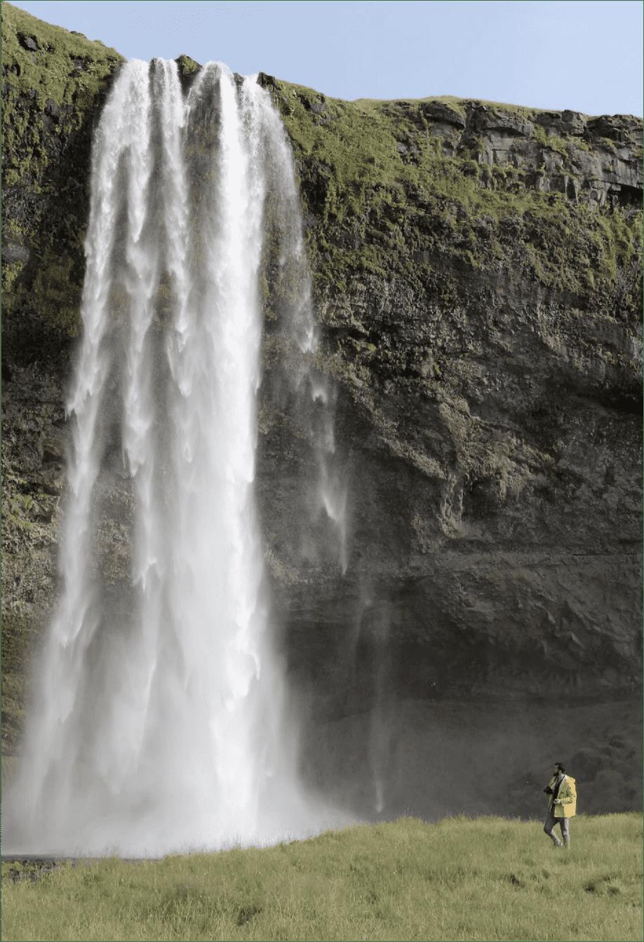 waterfall matt stephenson mindful steward photo essay iceland