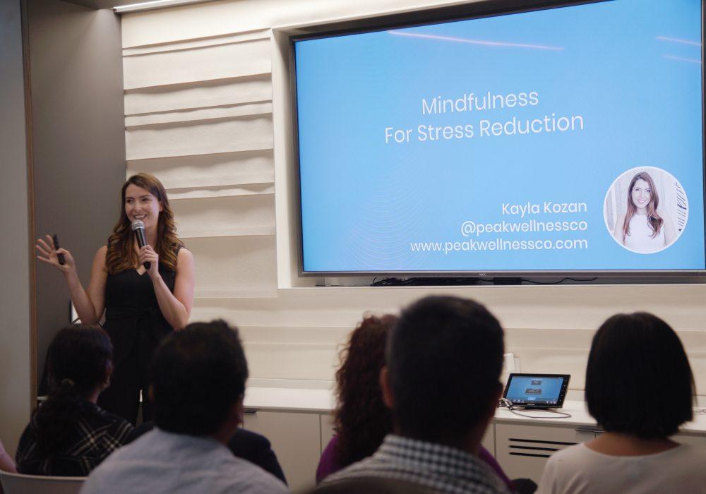 kayla kozan corporate mindfulness trainer